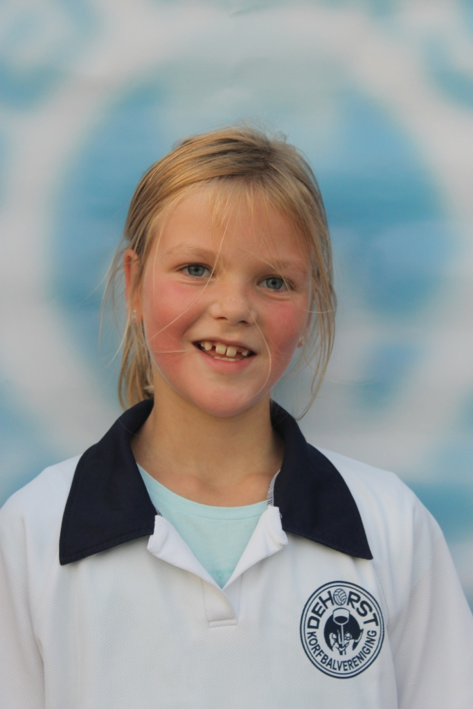 korfbal pupil van de week 6 december 2015